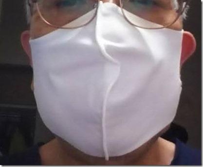 【冷感】洗えるクールUVフィットマスク2